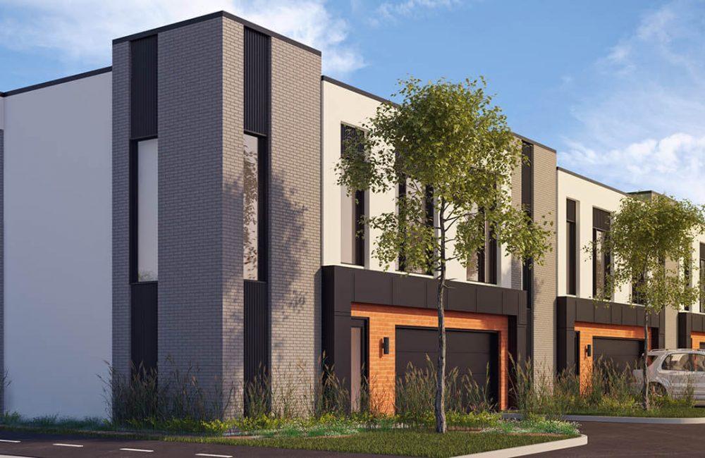 Villas cite Mirabel - Projet de maisons de ville neuves a vendre a Mirabel