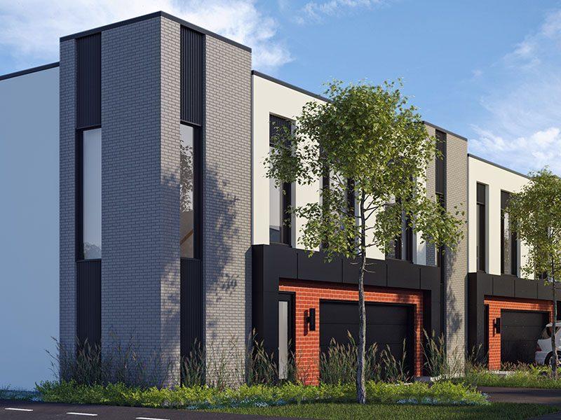 Villas cité Mirabel - Projet de maisons de ville neuves a vendre a Mirabel