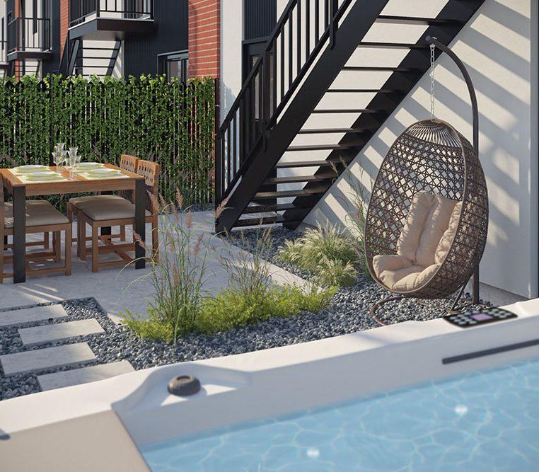 Maison neuve a vendre a Mirabel - Villas cite Mirabel
