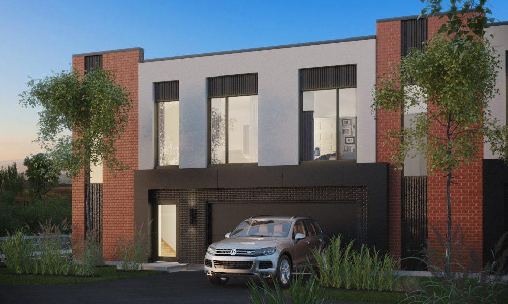 Maisons de ville neuves a vendre à Mirabel - Villas cité Mirabel