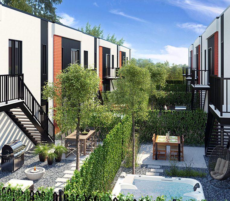 Maisons neuves a vendre a Mirabel - Villas cite Mirabel