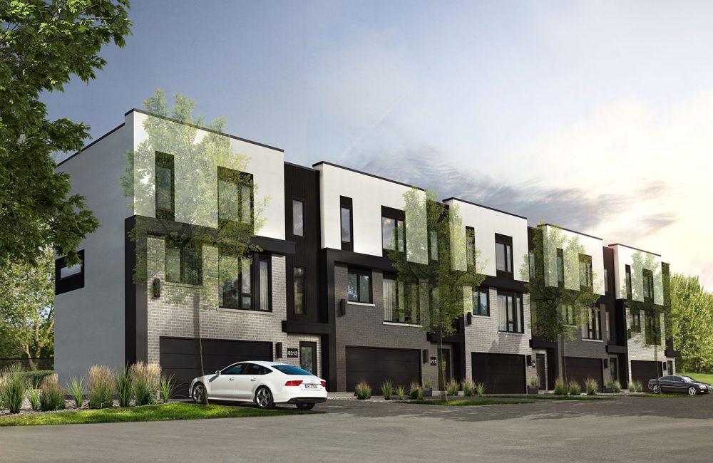 Villas cite Mirabel - Maisons de ville neuves a vendre