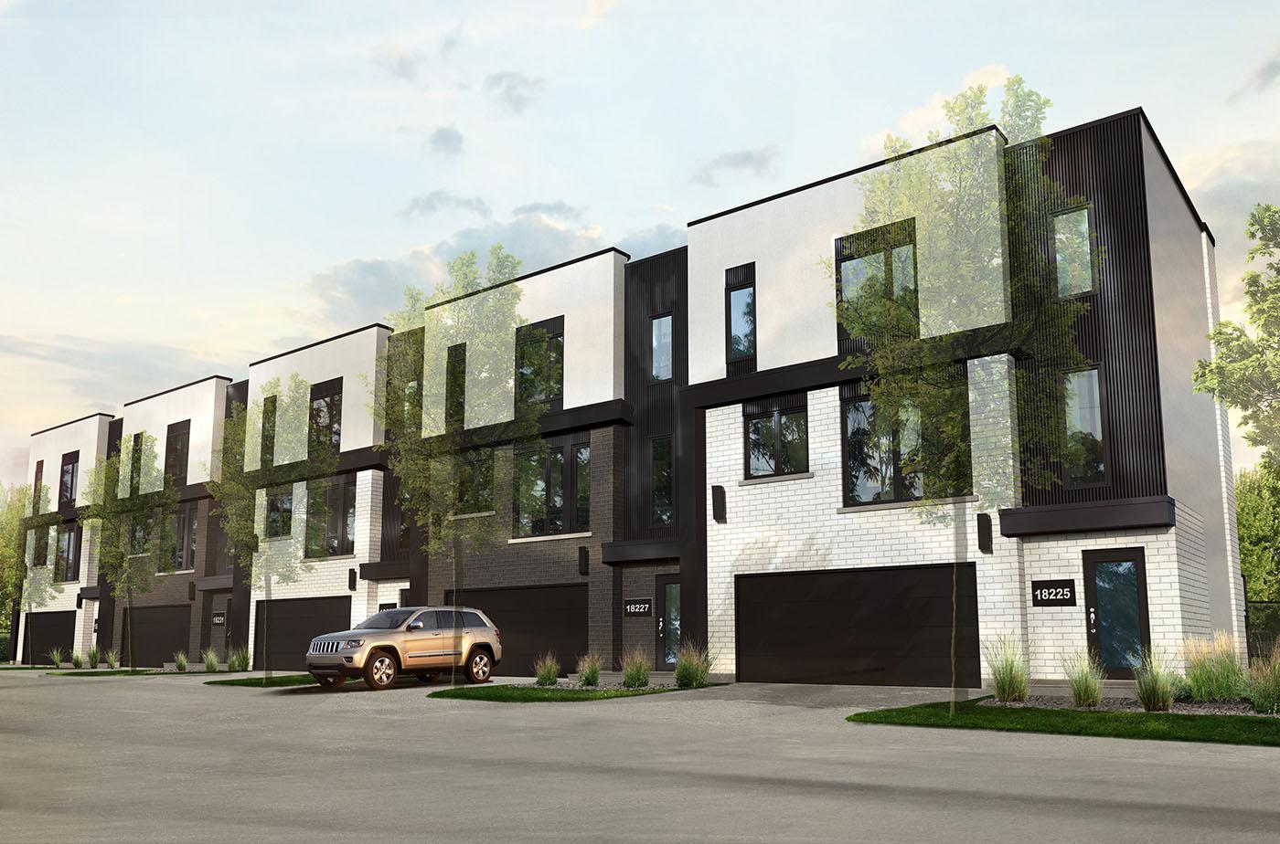 Maison de ville outlet mirabel segu maison for Vert urbain maison de ville