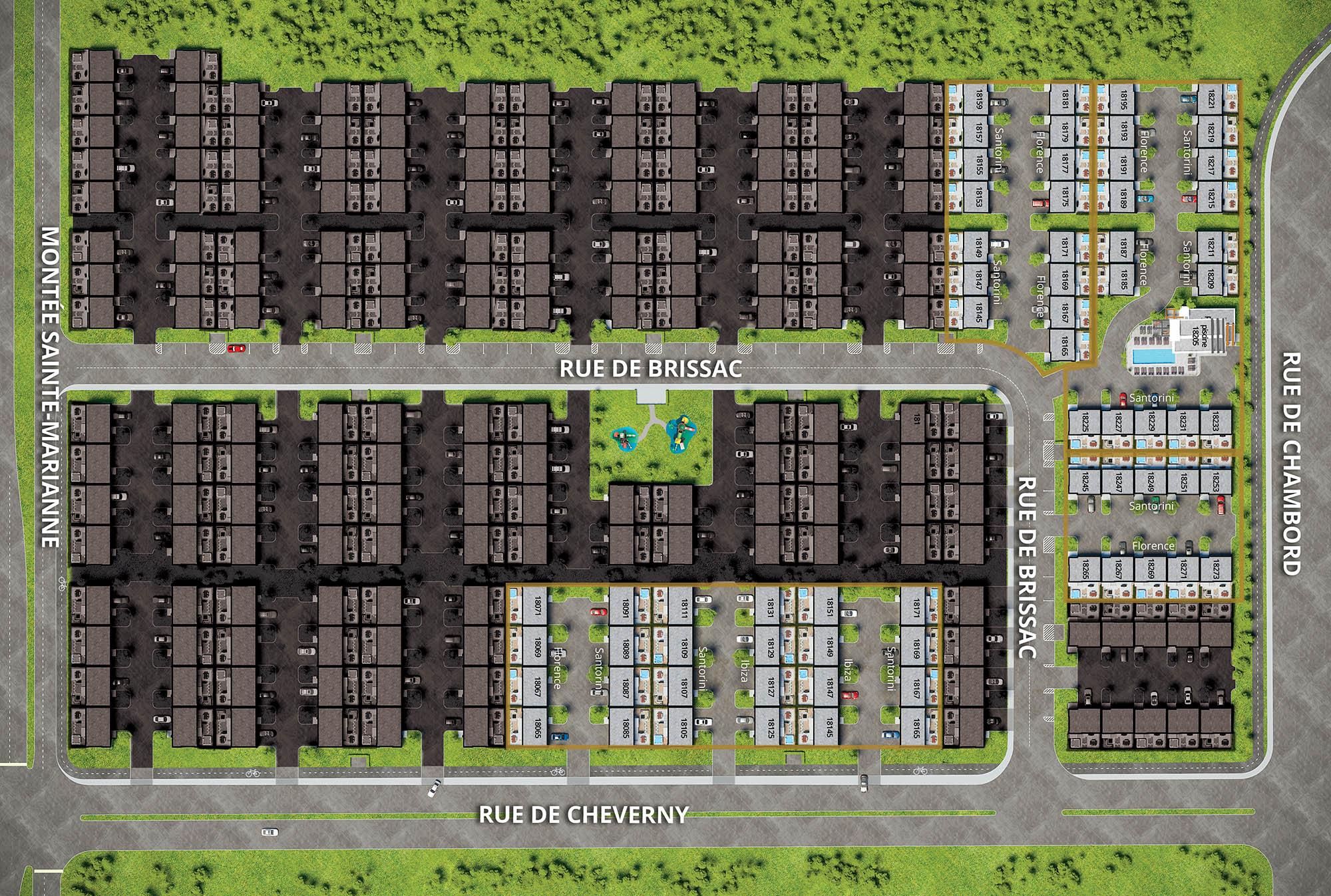 Sélectionnez une maisons-villas